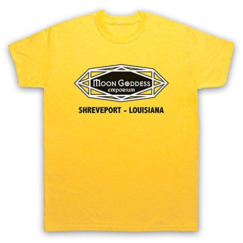 Inspiriert durch True Blood Moon Goddess Emporium Occult Shop Unofficial Herren T-Shirt Gelb