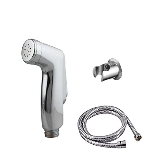 SBD Health Faucet ABS Multy with Stainless Steel Tube and Hook Hand, Bathroom Faucet, Hand Shower, Spray Gun|, Water Tap, Jet Spray, 1M