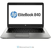 HP Elitebook 840 G2 - Premium Business-Notebook - Intel Core i5 - 2,30GHz, 180GB SSD, 8 GB RAM, 14in Zoll 1600x900 HD+ Display, Windows 10 Pro - (Generalüberholt) (8GB RAM | 256GB SSD)