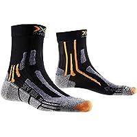 X-Socks Sky Run Two Calza Running, Uomo, Nero (Black), 42/44
