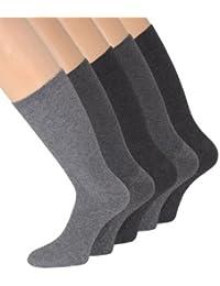 Herrensocken ohne Gummi Socken ohne Gummidruck ohne Gummizug für Herren 43-46 39-42 47-50, 10 Paar