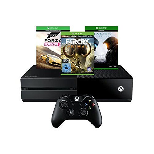 Xbox One 500GB Konsole inkl. Forza Horizon 2 + Far Cry Primal (100% Uncut) - Special Edition + Halo 5: Guardians (Forza Horizon 5)