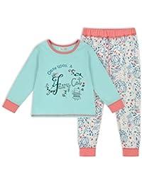 The Essential One - Bebé Infantil Niñas Once Upon A... Pijama - Turquesa/Rosado - EOT540