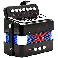 Mini 7 Claves 2 Bass Acordeón Educativo Del Instrumento Musical Rhythm Band Para Niños \ Musicales Accesorios Materia Parte Herramienta Instrumento Gadget Jugar Suministros Avanzada Engranaje Equipo
