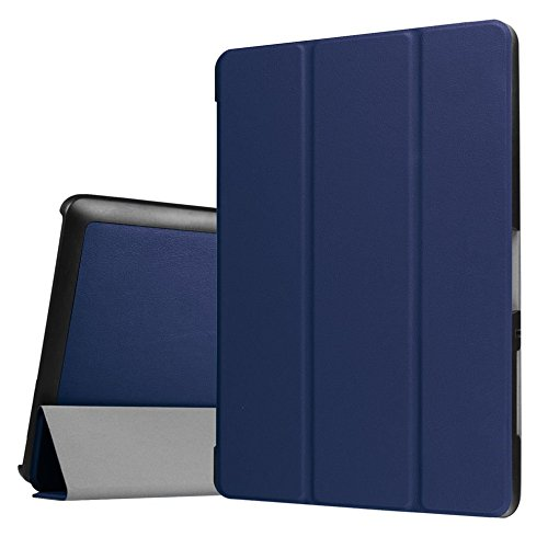 Tasche für Acer Iconia One Tab 10 B3-A30 / A3-A40 10.1 Zoll Schutz Hülle Flip Tablet Cover Case (Blau)