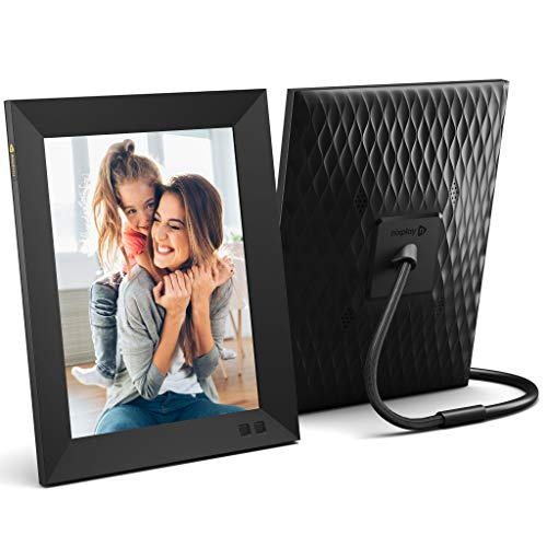 NIX 13.3 Zoll Digitaler Bilderrahmen - 1920x1080 HD-Display, Bewegungssensor, automatischer Fotodrehung, USB- und SD-Kartensteckplätzen und Fernbedienung