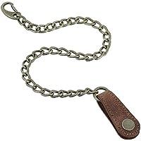 Cadena de seguridad de 45 cm para carteras , llaves, etc. Colores negro,
