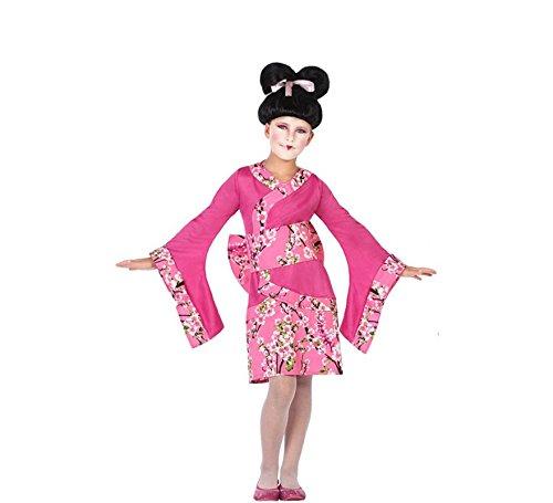 ATOSA 56819 COSTUME GEISHA 7-9, Mädchen, Rosa, 7 a 9 años (Geisha Mädchen Rosa Kostüm)
