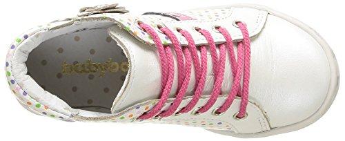 Pois 120 Sneaker babybotte Blanc babybotte Blanc Aileron Multi M盲dchen M盲dchen 8xqZvRU