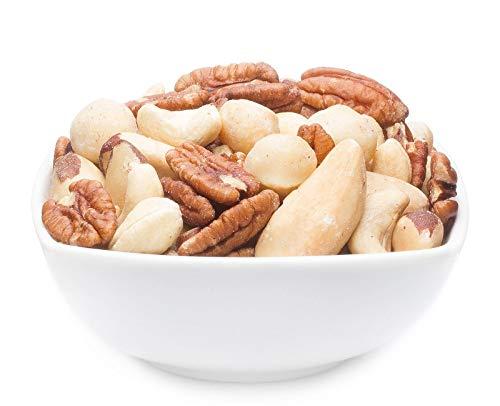 CrackersCompany 'Daily Fitness Nut Mix' (1 x 500g in ZIP Beutel) Fitness Nuss-Mischung - Fitness Nussmischung für ausgewogene Ernährung