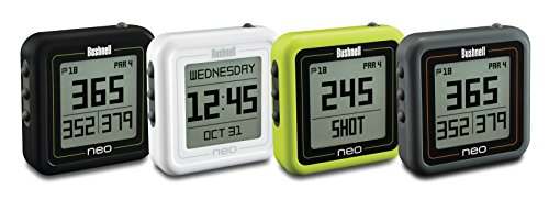 Bushnell Unisex Adult Neo Ghost Golf Gps – Charcoal – Preloaded W/Worldwide Mappin Neo Ghost – Charcoal, Compact