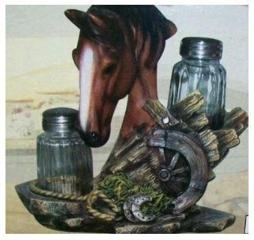 Equine Spice Braun Pferd Salz und Pfeffer
