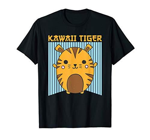 Cool Kawaii Tiger Potato - Japanese Anime Manga Chibi Cute T-Shirt (Meme Halloween 2019)