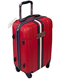 a225bb10c0 Tommy Hilfiger ABS 55 cms Red Hardsided Check-in Luggage  (TH/WEMBLEDONPLUSHL04055)