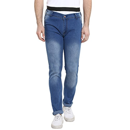 Urbano Fashion Light Blue Slim Fit Stretch Jeans