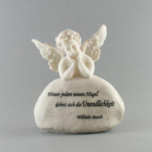 Ange sur tout nouveau spruchstein 'hinter on s'les unendlichkeit'pierre tombale -