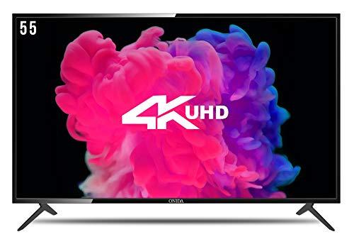Onida 138.78 cm (55 inches) 55UIB1 4K LED Smart TV (Black)