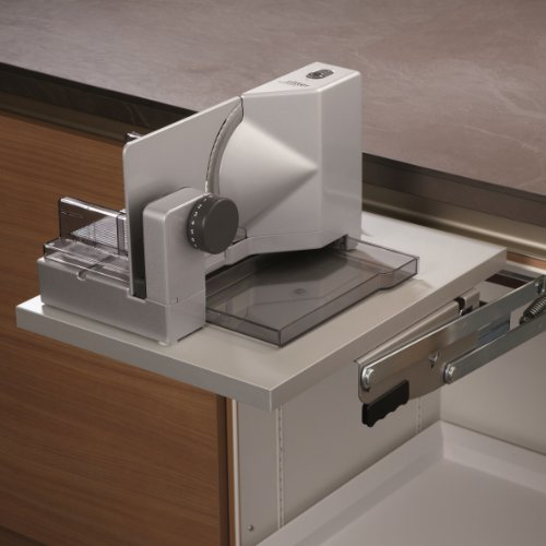 ritter Einbau Allesschneider E118 für Schwenkmechanik in der Küchenzeile