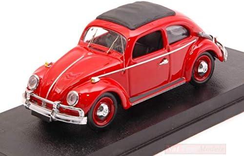 New Rio Rio Rio RI4393 Volkswagen Beetle Anfibio Brasile 1961 Red 1:43 Die CAST Model | Commandes Sont Les Bienvenues  9e7054