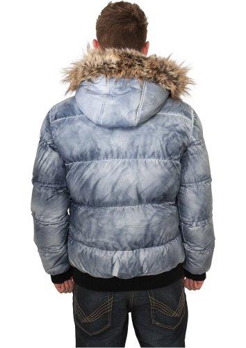 Urban Classics Spray Dye Expedition Jacket, Farbe:denimblue;Größe:3XL