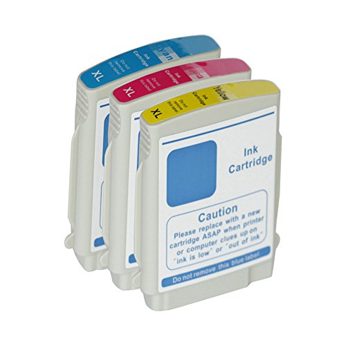 PERSEUS 88 Cartuchos de Tinta para HP 88XL Color(1 88C,1 88M,1 88Y) álta Capacidad XL Remanufacturado Compatible HP Impresora