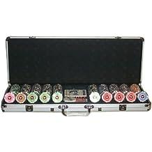 Set completo 500 Fiches Private Poker Tournament