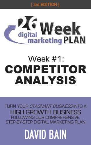 COMPETITOR ANALYSIS: Week #1 of the 26-Week Digital Marketing Plan [Edition 3.0] (English Edition)