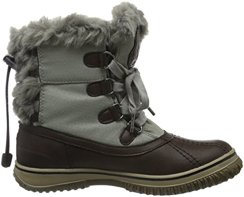 Pajar Damen Ice Pick Schneestiefel Braun (Dark brown/grey)