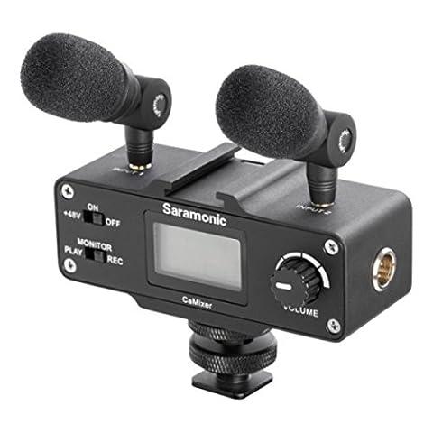 Saramonic SRCAMIXER Mini Preamp Audio Adapter