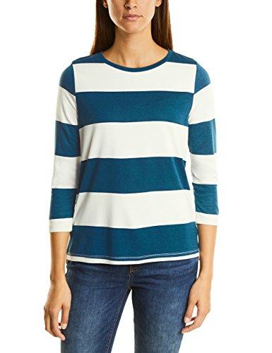Street One Utina, T-Shirt Donna Türkis (Pacific Blue 20991)