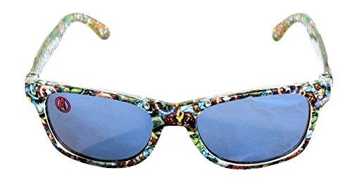 Marvel Licensed Boys Avengers Wayfarer Character Design Sunglasses Shades UV 400 100% Protection
