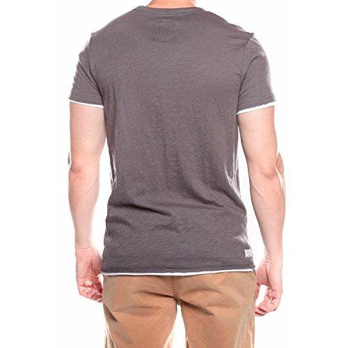 Deeluxe Herren T-Shirt Dunkelgrau