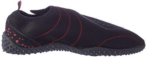 Aqua speed acqua scarpe/scarpe da surf/Ciabatte da piscina Aquashoe 15–2014 Nero/Rosso