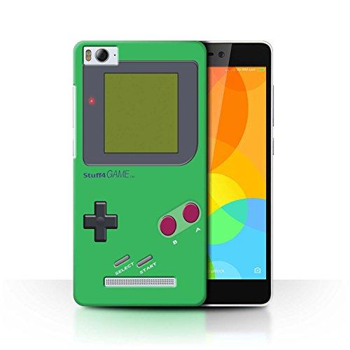 Stuff4 Hülle / Case für Xiaomi Mi 4i / Grün Muster / Videogamer/Gameboy Kollektion