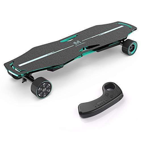 Macwheel Skateboard Electrique, 600W Double Moteur-Roue, Vitesse maximale de 33 km/h, Planche à roulettes 4 Roues avec Télécommande sans Fil pour Adultes et Jeunes (MR1)