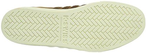K-Swiss Adcourt 72 So P~Cgnc/Bsn/Wspr Wht~m, Sneaker Uomo Marrone (Cognac/Bison Whisper White/221)
