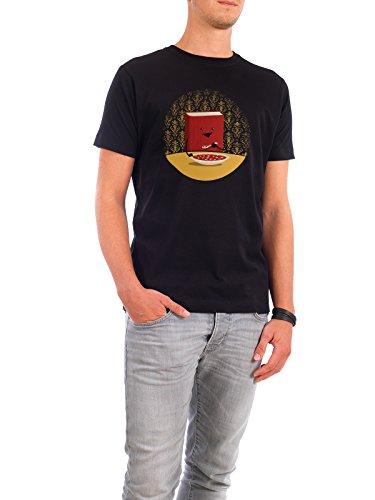 """Design T-Shirt Männer Continental Cotton """"Nutrition"""" - stylisches Shirt Kindermotive Comic Essen & Trinken von littleclyde Schwarz"""