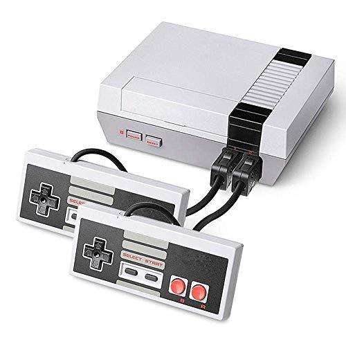 takestop® Mini Console Gioco con 620 Giochi INCORPORATI Classic per TV Videogame Retro con Cavo AV con 2 Controller Game