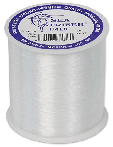 Sea Striker Monofilament Fishing Line 100# - High Abrasion Resistance/Quality