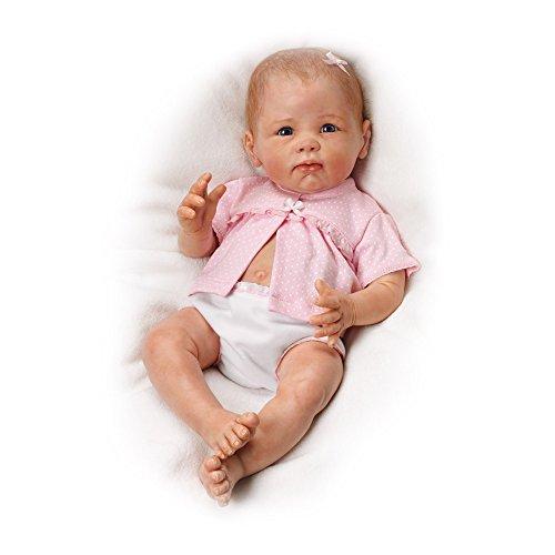 ashton-drake-preciosa-kaylee-muneca-bebe-realista-y-flexible-traje-de-lunares-de-linda-murray-vinilo