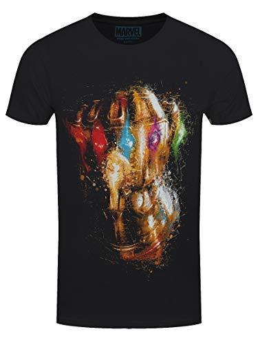 Avengers Endgame - Thanos Infinity Gauntlet T-Shirt schwarz M Infinity T-shirt