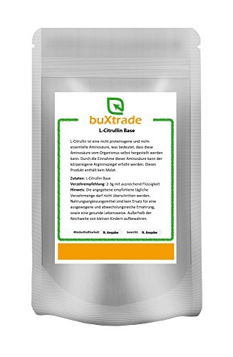 1 kg L-Citrullin Base - rein   Aminosäure   ohne Malat
