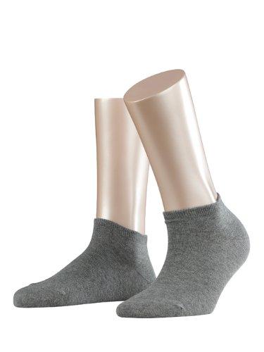 ESPRIT Damen Sneaker Socken 18530 Basic SN, Doppelpack, Gr. 35/38, grau (grey 3390)