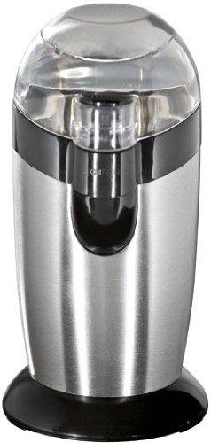 Clatronic 283024 KSW 3307 Kaffemühle mit Edelstahlmesser 120 Watt, inox