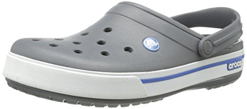 Crocs Band 2.5, Sabots mixte adulte Noir (Charcoal/Sea Blue)