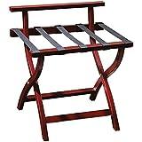 Equipaje estante de plegable Equipaje estante de plegable, Rejilla portaequipajes soporte para equipaje