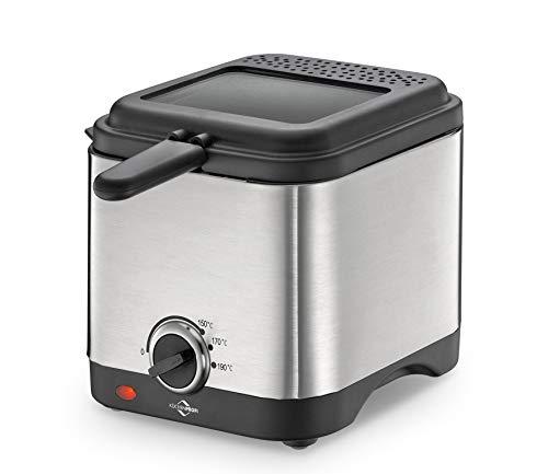 Küchenprofi Mini Friteuse Style Edelstahl Kst. Schwarz 1709502800