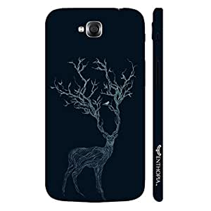 LG G Pro Lite Dual Deer Branching Out designer mobile hard shell case by Enthopia