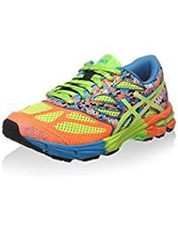Asics Zapatillas de Running Gel-Noosa Tri 10 Gs Naranja / Amarillo / Cielo EU 33