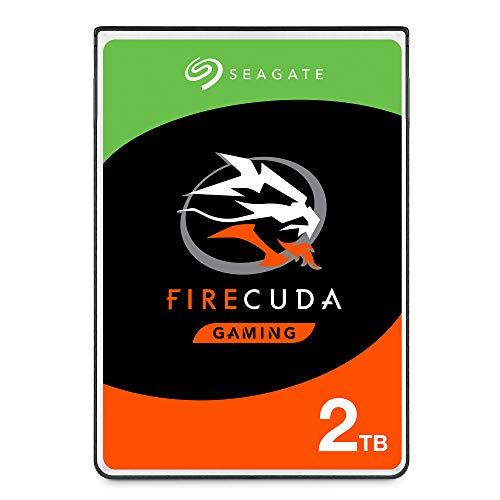 Seagate FireCuda ST2000LX001 Interne Solid-State-Hybrid-Festplatte (2 TB, SSHD) für PC und PS4 -